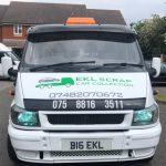 EKL Scrap Car Transporter - Front View