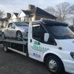 Loaded Car transporter
